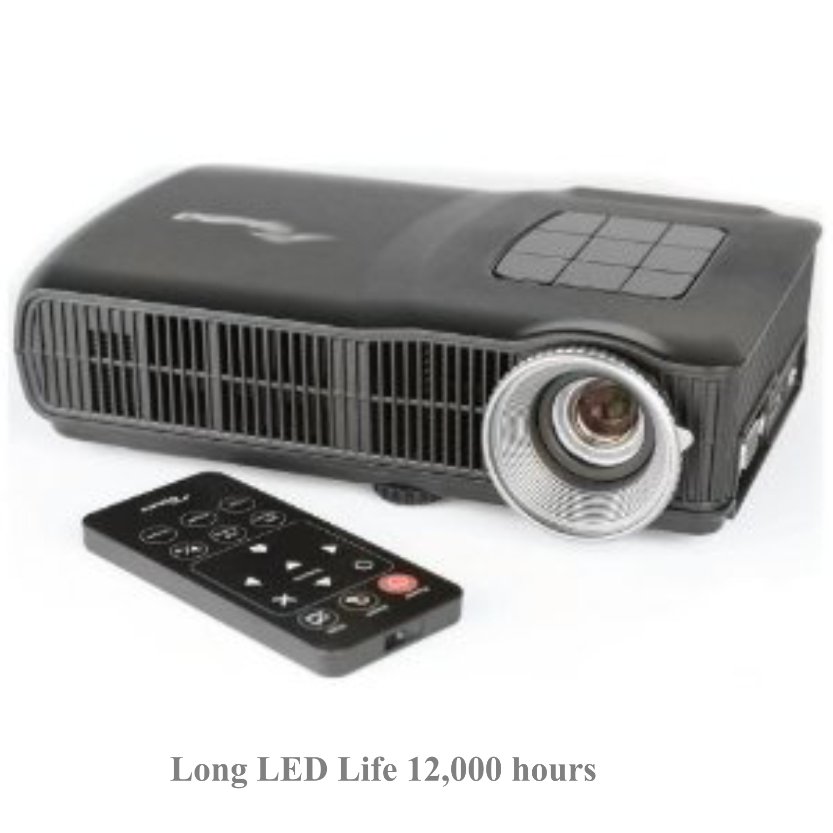 Indoor and outdoor DLP Video Projector for Holiday projections