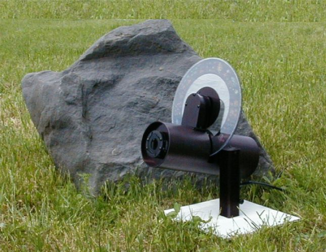 Indoor and outdoor multi-image holiday projector